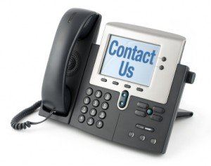 telephone contact us