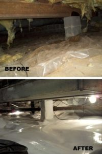 crawl space repair south dakota, wyoming