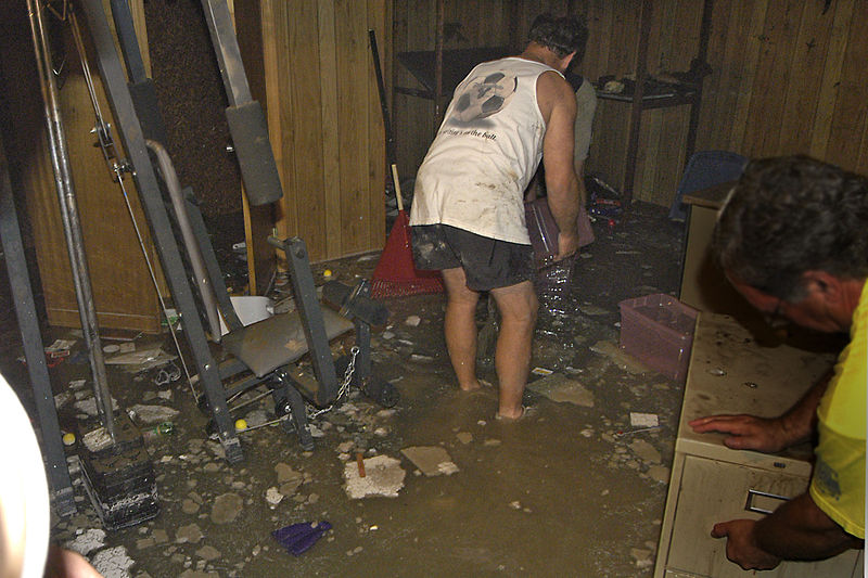 Flooded Basement in South Dakota
